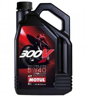 ACEITE MOTUL 300V 5W40 FL ROAD RACING 4L