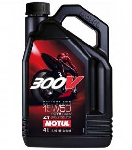 ACEITE MOTUL 300V 15W50 FL ROAD RACING 4L
