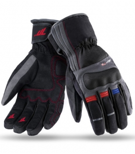 GUANTE-SEVENTY-DEGREES-T25-TOURING-MUJER-NEGRO-ROJO