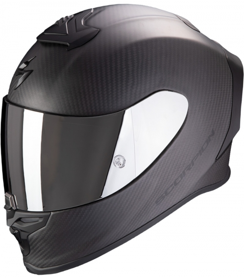 CASCO-SCORPION-EXO-R1-CARBON-AIR-SOLID-MATT-NEGRO