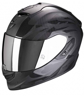 CASCO SCORPION EXO 1400 CARBON AIR OBSCURA NEGRO / NEGRO MATE