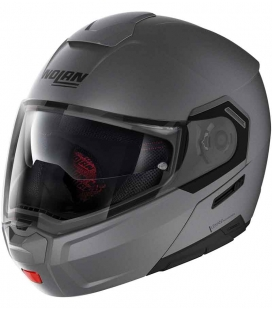 CASCO NOLAN N90-3 CLASSIC GRIS MATE 2 ST RACING STORE