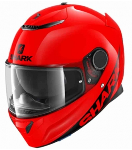CASCO INTEGRAL SHARK SPARTAN 1.2 BLANK ROJO ST RACING STORE