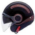 CASCO SWITX SX.10 MARRÓN CHOCOLATE/ NEGRO