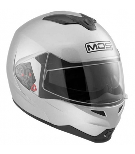 CASCO MODULAR MDS  MD200 NEGRO BRILLO