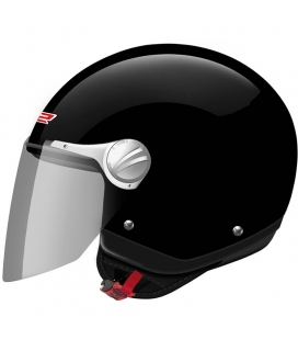 *CASCO LS2 ROCKET 2 NEGRO BRILLO M