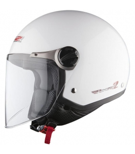 *CASCO LS2 ROCKET 2 BLANCO BRILLO TALLA XS