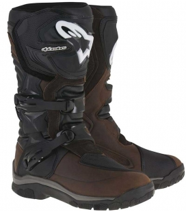 BOTAS ALPINESTARS COROZAL ADVENTURE DRYSTAR OILED LEATHER MARRONES