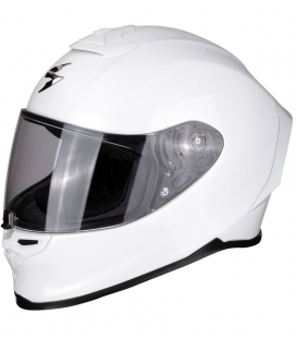 CASCO SCORPION EXO R1 AIR BLANCO BRILLO