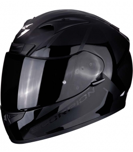 CASCO SCORPION EXO-710 AIR SPIRIT NEGRO BRILLO / NEGRO MATE