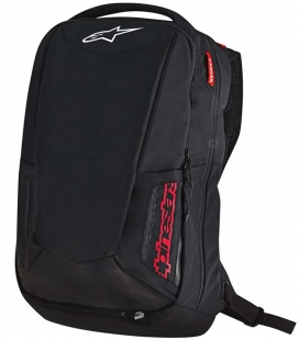 MOCHILA ALPINESTARS CITY HUNTER NEGRO / ROJO