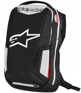 MOCHILA ALPINESTARS CITY HUNTER NEGRO / BLANCO /ROJO