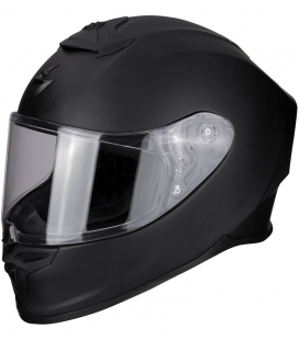 CASCO SCORPION EXO R1 AIR NEGRO MATE